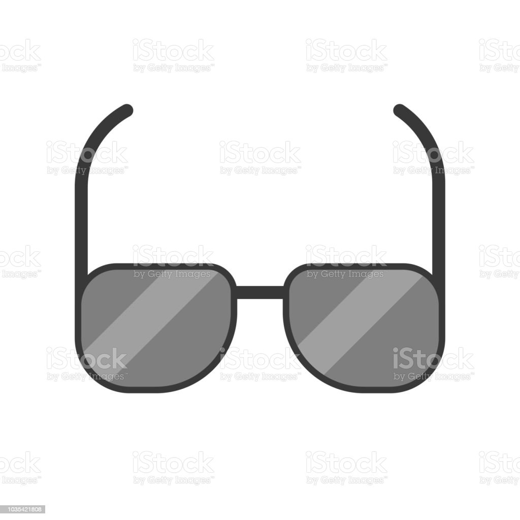Sunglassed Black Lens And Frame Police And Investigate Related Icon ... d92d692258230