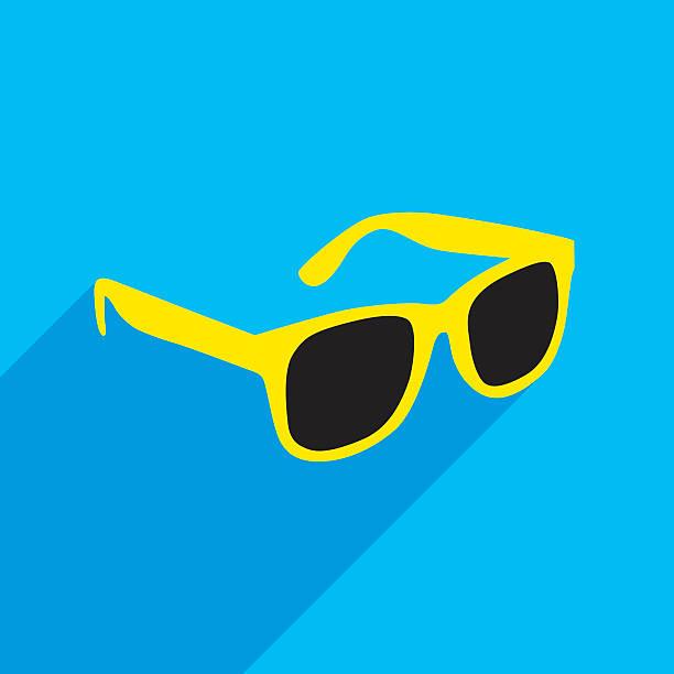 선글라스 아이콘크기 - 선글라스 stock illustrations