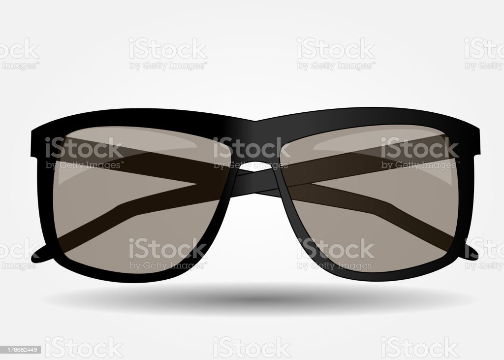 Sunglasses icon vector illustration royalty-free sunglasses icon vector illustration stock vector art & more images of art
