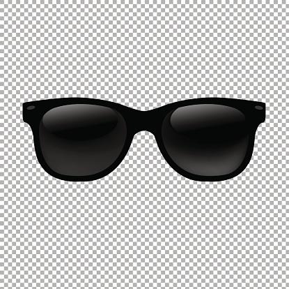 Sunglasses In Transparent Background