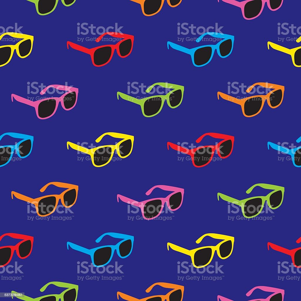 Sunglasses Pattern vector art illustration