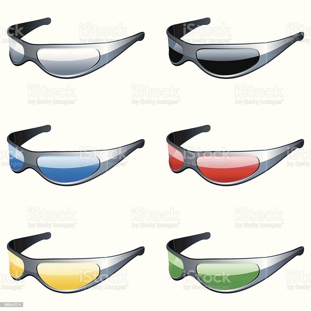 Sunglasses set. royalty-free sunglasses set stock vector art & more images of black color
