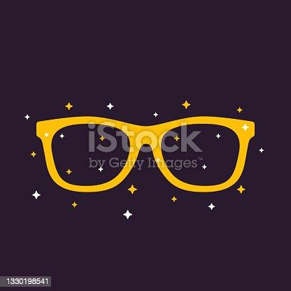 sunglasses silhouette vector illustration