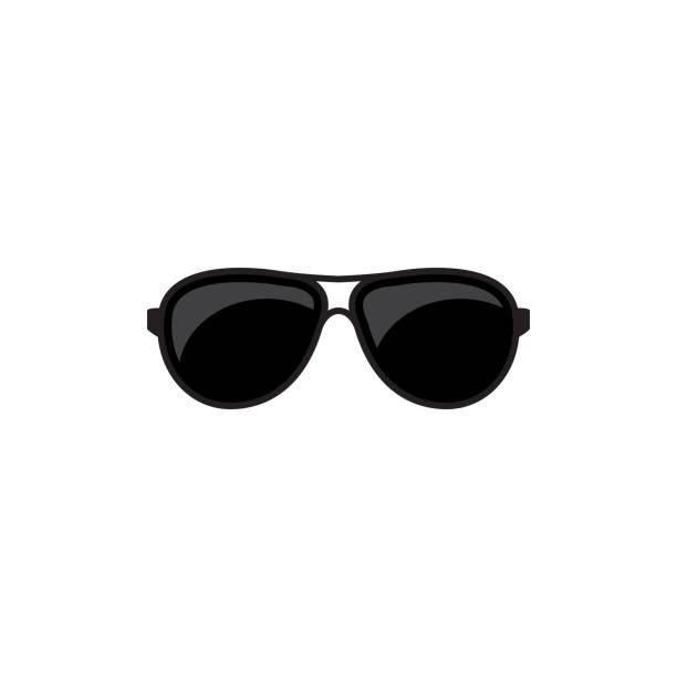 sunglasses vector icon vector art illustration