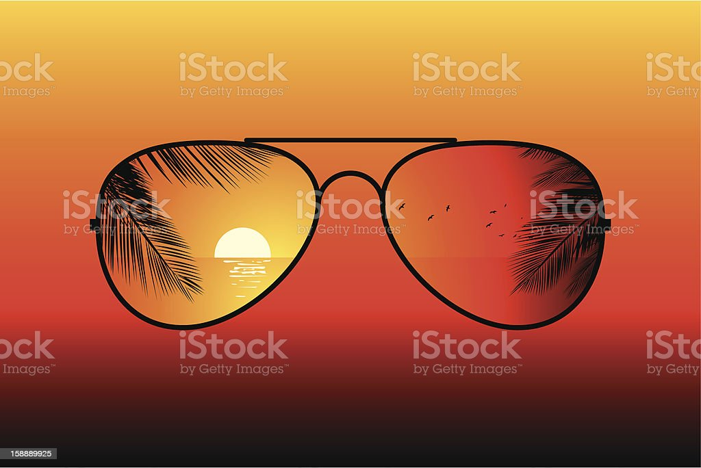 Sunglasses. royalty-free sunglasses stock vector art & more images of animal body part