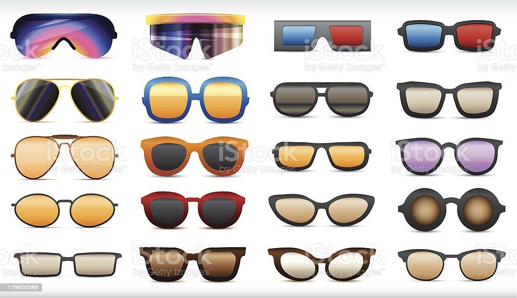 Sonnenbrille – Vektorgrafik