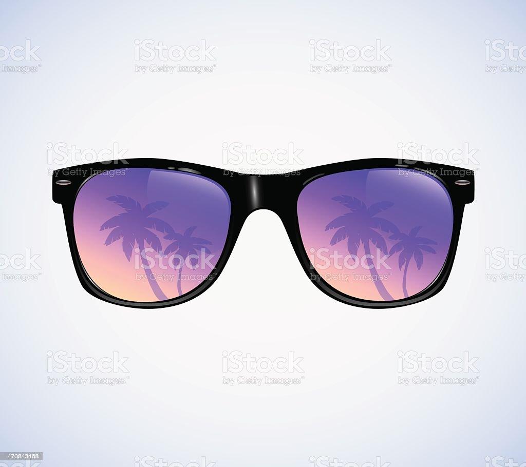 Sunglasses vector illustration vector art illustration
