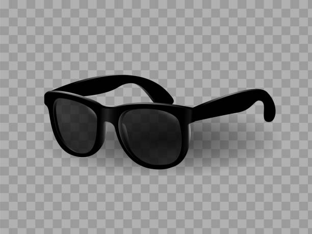 sunglasses with isolated background - white background stock illustrations