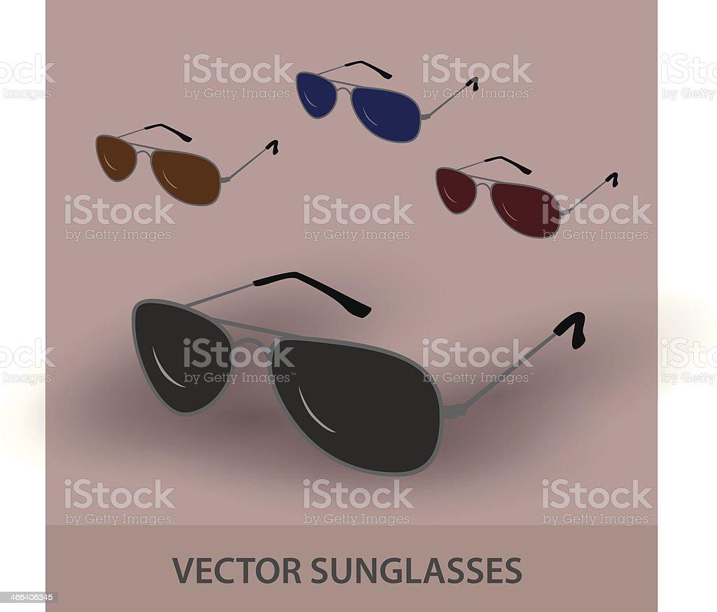 sunglassess eps10 royalty-free stock vector art