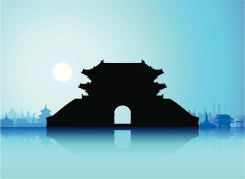 Sungnyemun (Namdaemun Gate), Korea