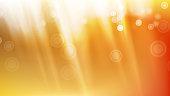 Sunlight Background Vector. Realistic Blur Design. Soft Flare. Sunshine Backdrop. Illustration