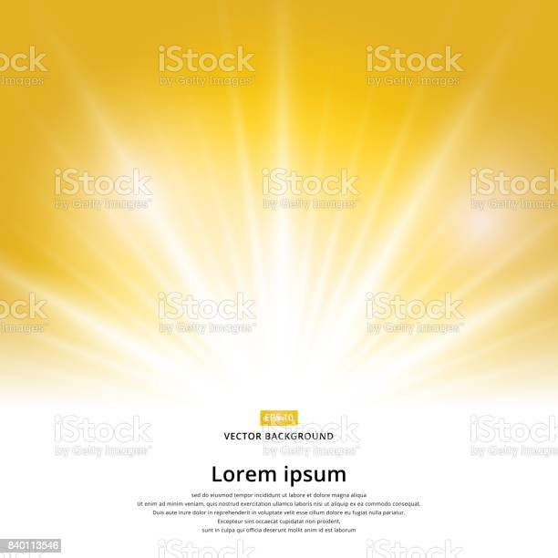 Sunlight effect sparkle on yellow background with copy space abstract vector id840113546?b=1&k=6&m=840113546&s=612x612&h=djrdd6rhwgfa89bnrjnfzexddfgc25gccafuo3cvitq=