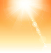 drawn of vector sunlight summer sign. This file of transparent and created by illustrator CS6.