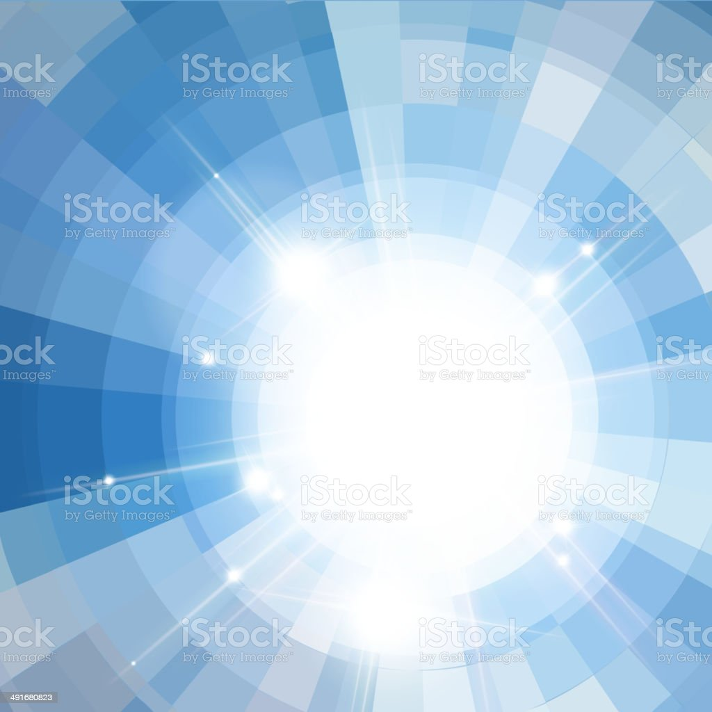 sunlight vector art illustration