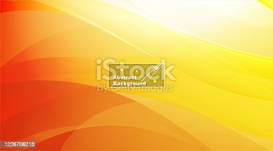 Sunny abstract yellow modern background