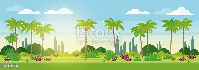 istock Sunny american landscape 951408704