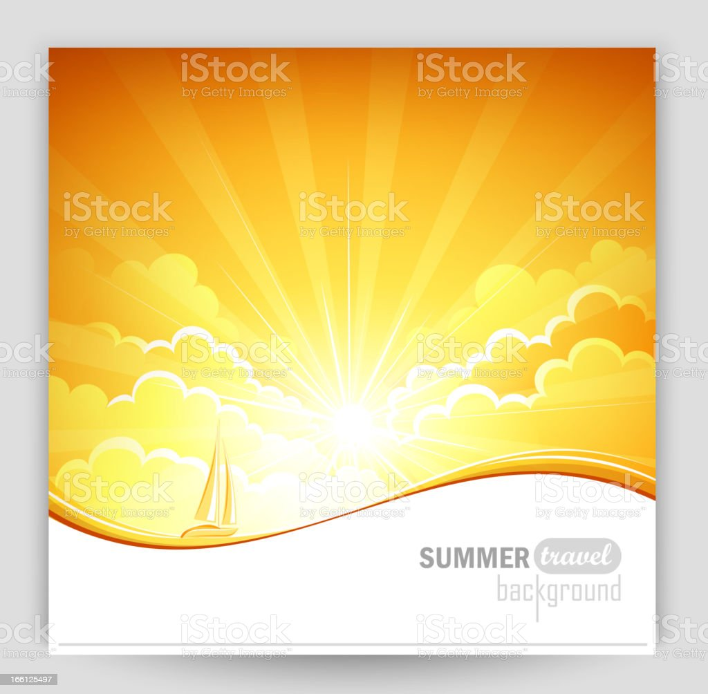 Sunny background royalty-free sunny background stock vector art & more images of backgrounds