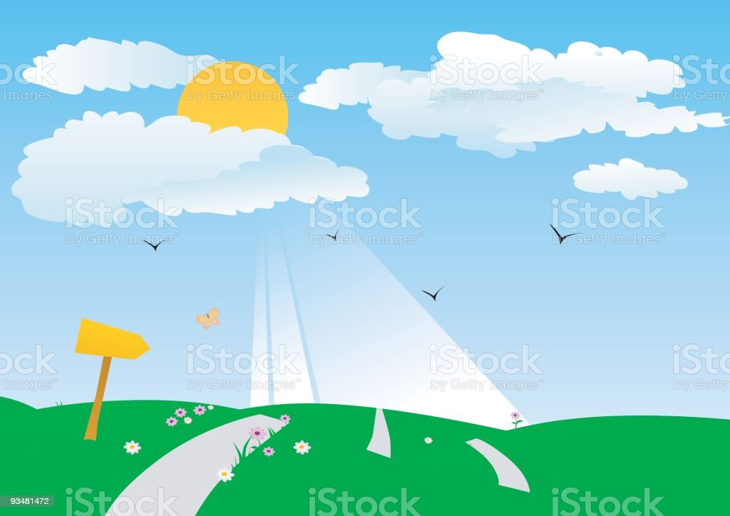 Sunny Day royalty-free sunny day stock vector art & more images of agriculture