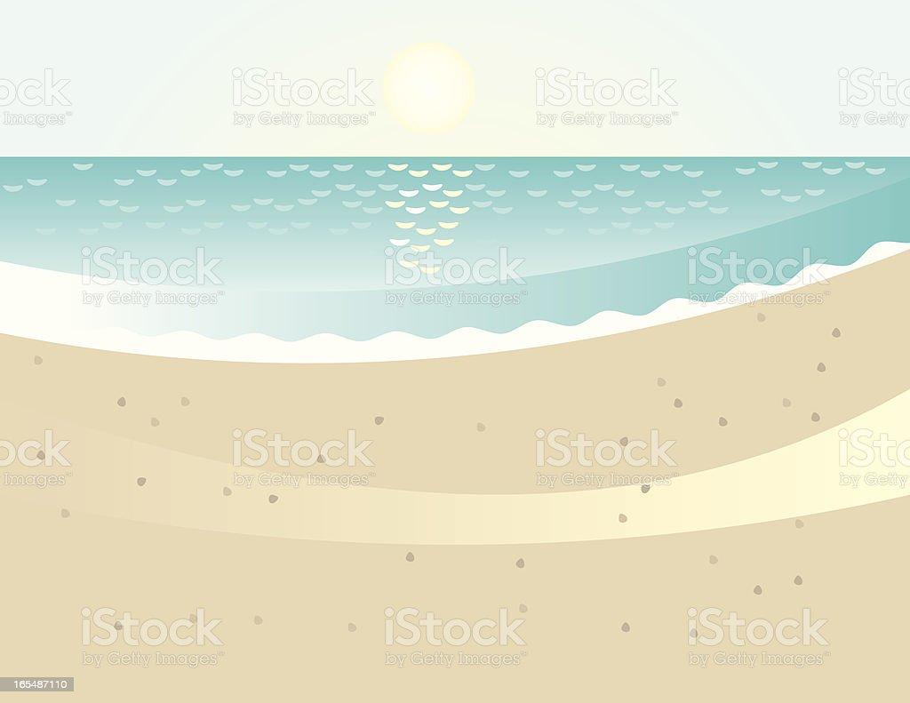 Sunny Sandy Beach royalty-free sunny sandy beach stock vector art & more images of beach