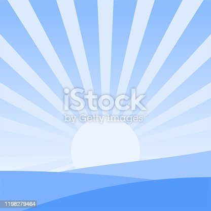 istock Sunrise Landscape Design 1198279464