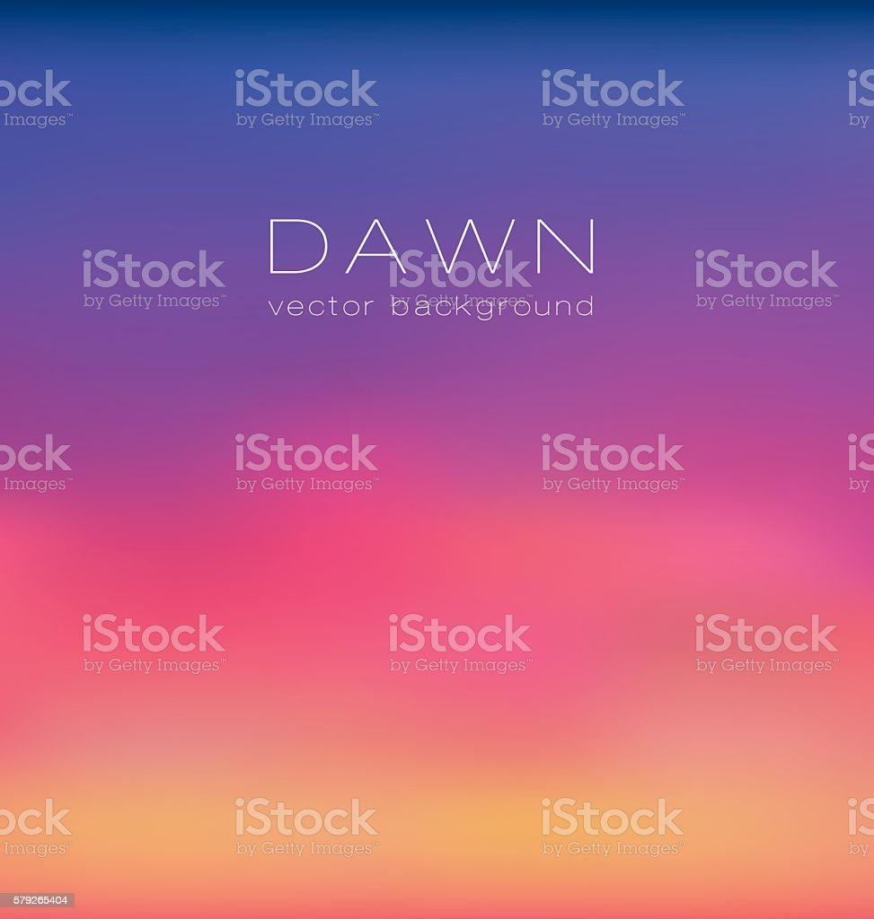 sunrise pastel pink concept background. dawn vector illustration vector art illustration