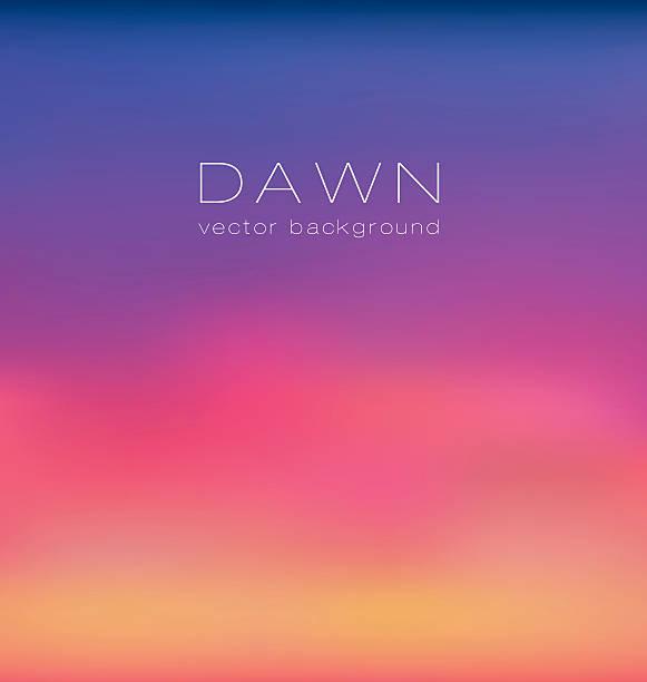 stockillustraties, clipart, cartoons en iconen met sunrise pastel pink concept background. dawn vector illustration - twilight