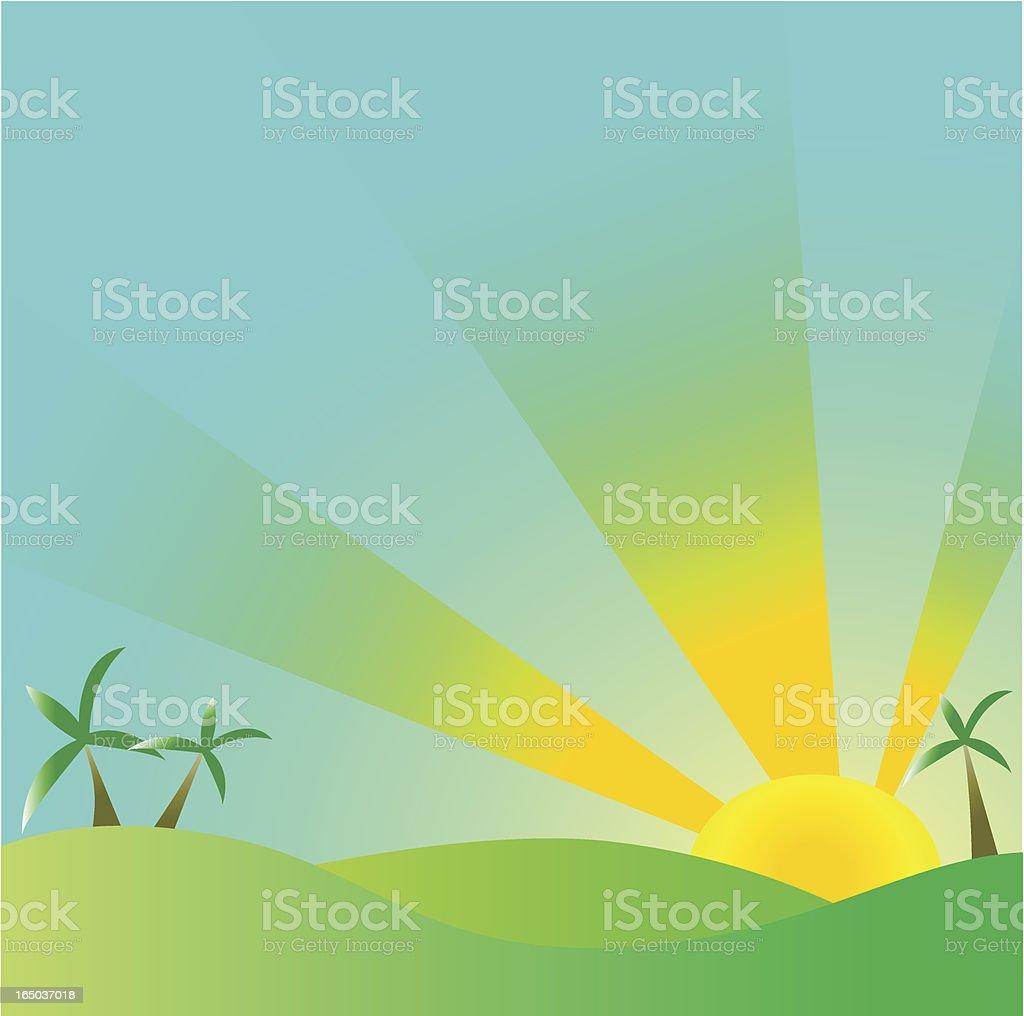 Sunrise – Vektorgrafik