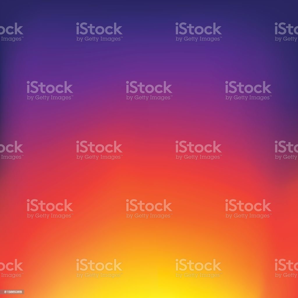 Sunset Gradient Stock Vector Art More Images Of Abstract Istock