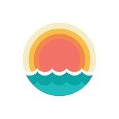sunset symbol