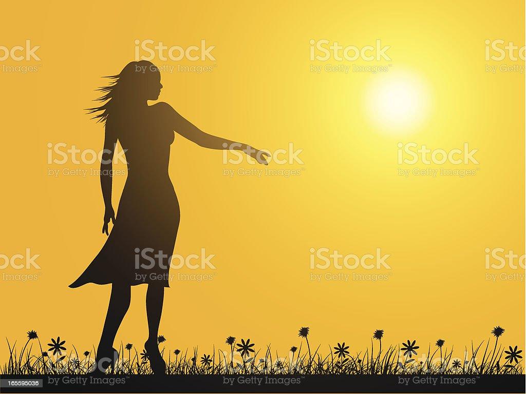 Pôr-do-sol ilustração de pôrdosol e mais banco de imagens de adulto royalty-free