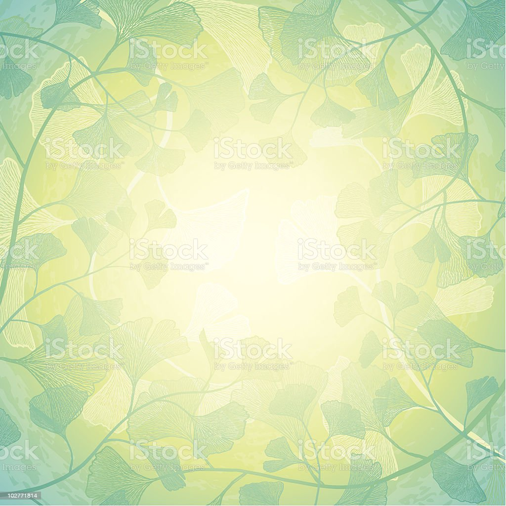 Sunshine floral background royalty-free stock vector art