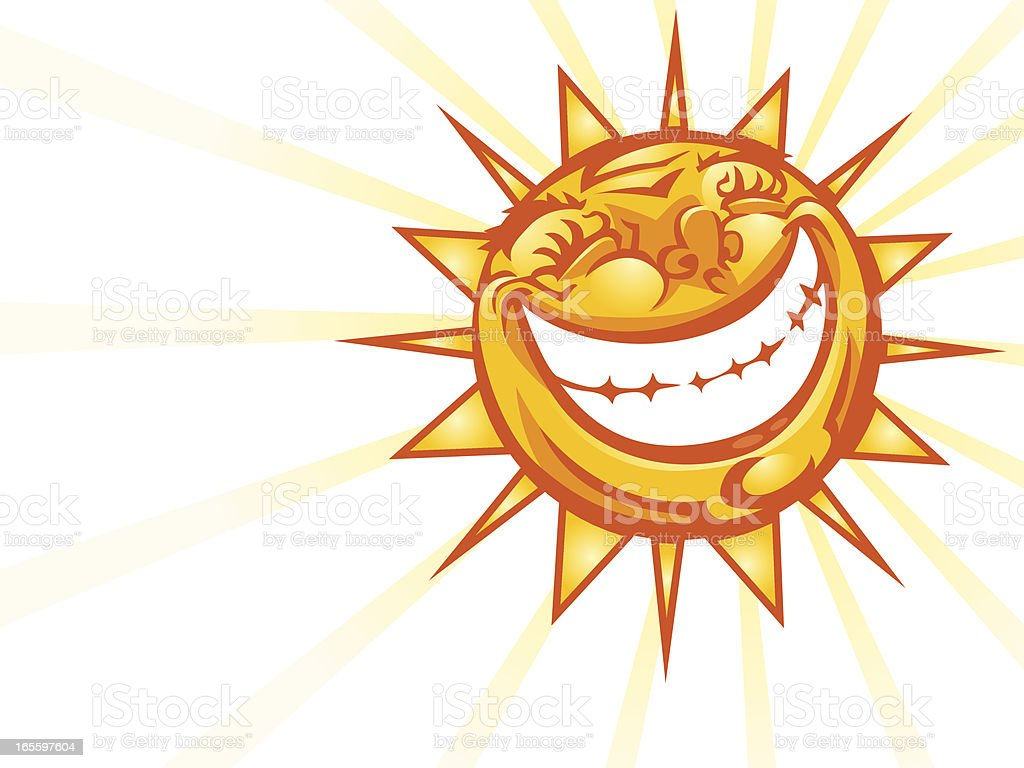 Sunshine Smile royalty-free sunshine smile stock vector art & more images of anthropomorphic smiley face