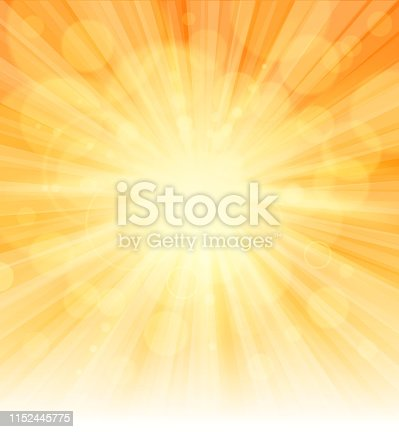 drawing of vector sunlight sign. Created by illustrator cs6. This file of transparent.