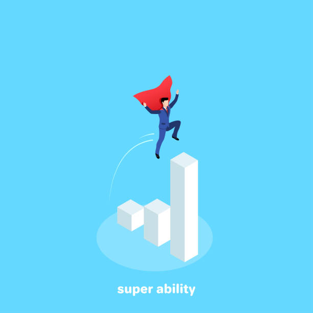 super ability vector art illustration