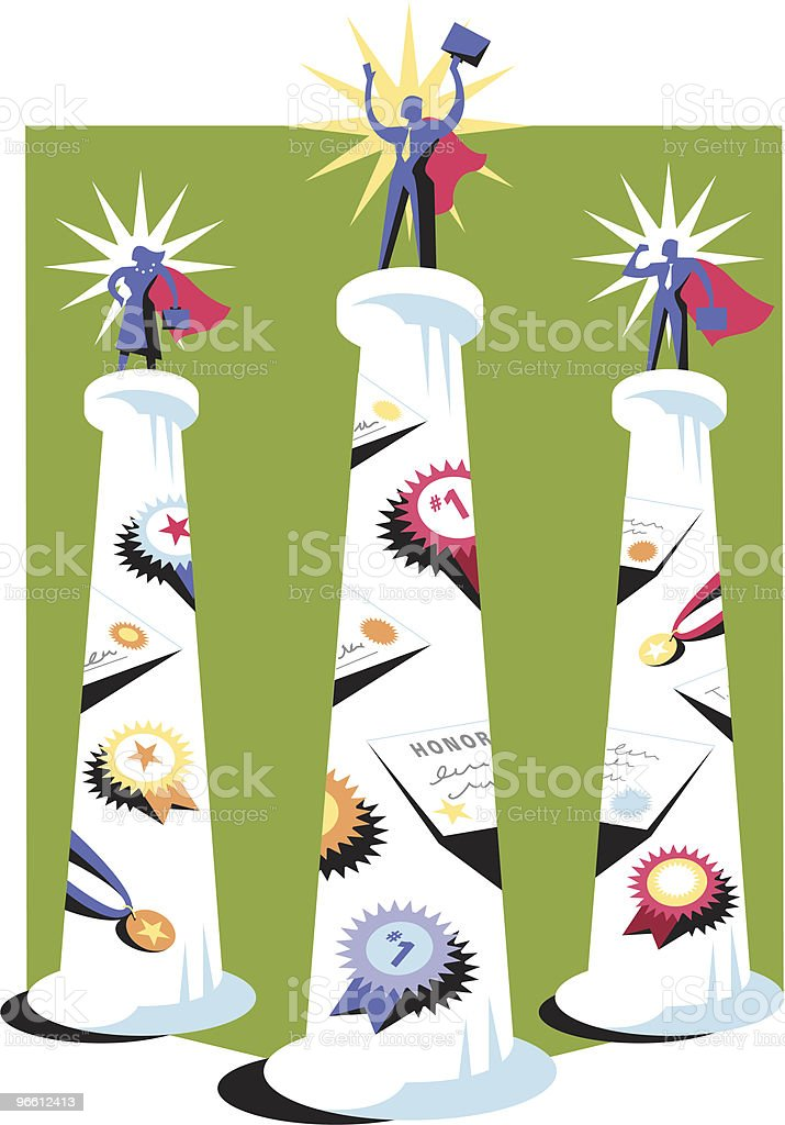 Super business persons royalty-free super business persons stock vector art & more images of achievement