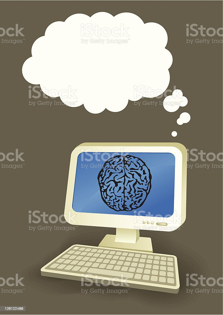 Super Computer 2 royalty-free super computer 2 stock vector art & more images of color image