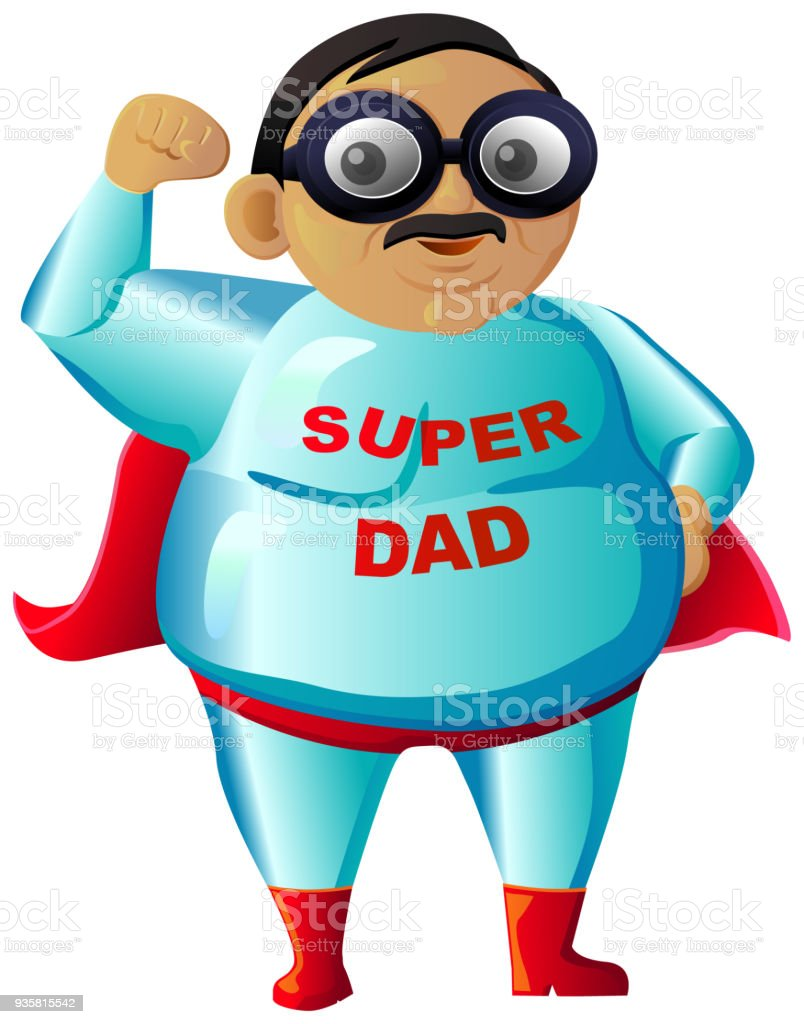 Super Dad Vektor Icon Stock Vektor Art und mehr Bilder von ...
