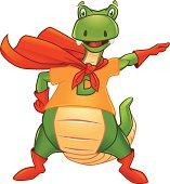 Dino the superhero!