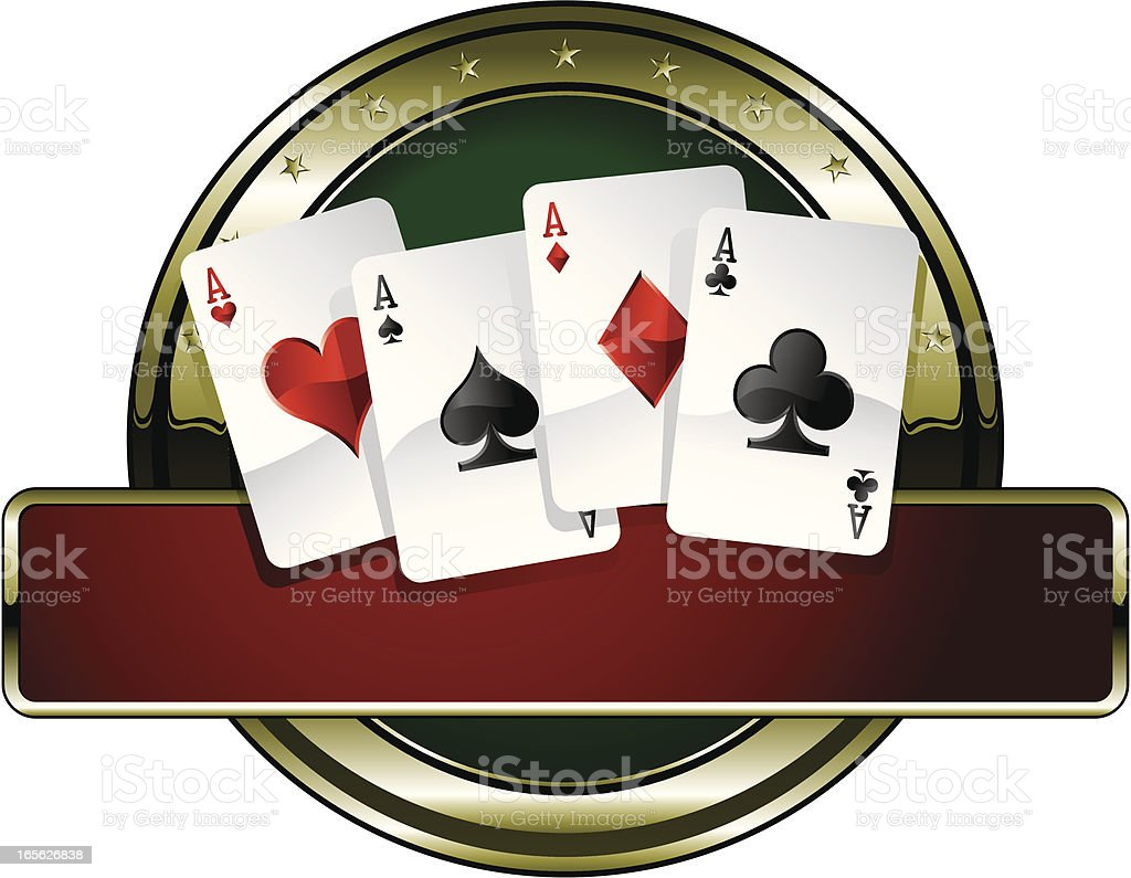 super goldie poker royalty-free super goldie poker stock vector art & more images of ace
