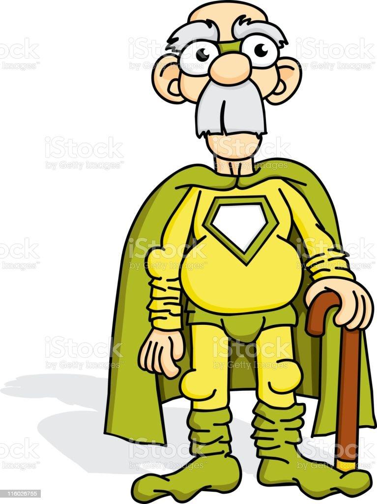 Super Grandpa royalty-free super grandpa stock vector art & more images of adult