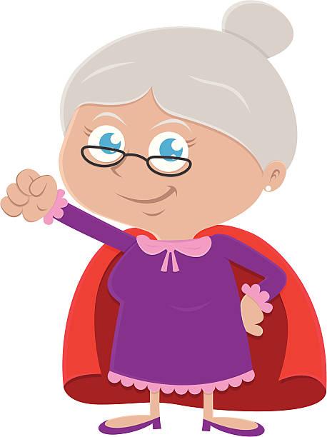 Royalty Free Grandma Clip Art, Vector Images ...