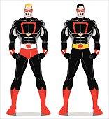 super hero. two superheroes