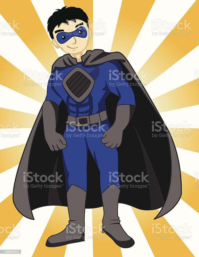 Super Hero royalty-free stock vector art
