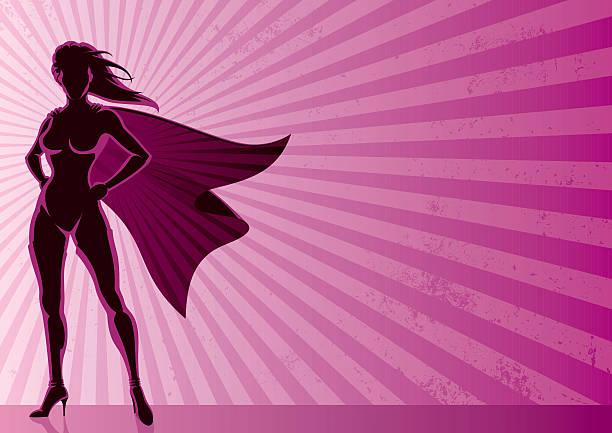 super heldin hintergrund - superwoman stock-grafiken, -clipart, -cartoons und -symbole