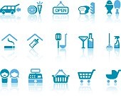 Super Market features related vector icons for your design and application.