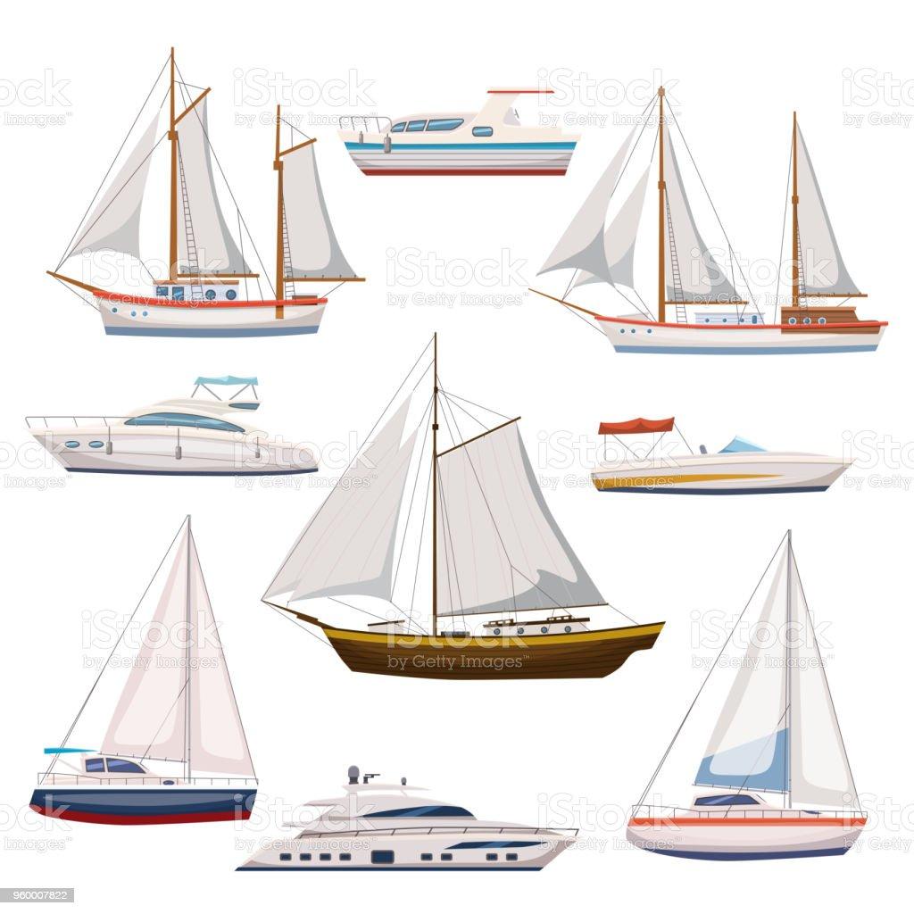 ilustração de super conjunto de transporte de água e transporte