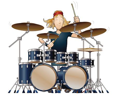 Super star drummer solo