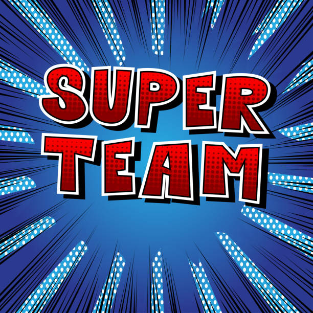 super team - wow stock-grafiken, -clipart, -cartoons und -symbole