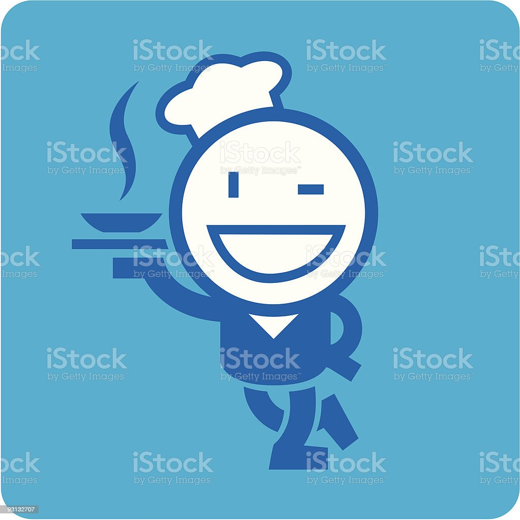 superchef royalty-free stock vector art