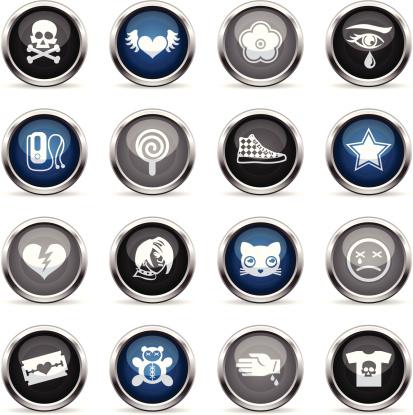 Supergloss Icons - Emo